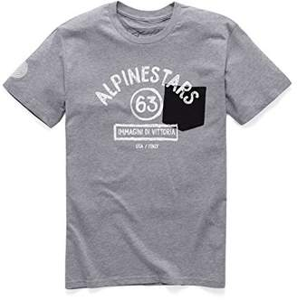 Alpinestars Men's Modern Fit Short Sleeves Light Weight Premium Pocket T-Shirt