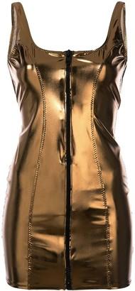 Lisa Marie Fernandez zipped fitted dress