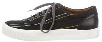 Lanvin Woven Platform Sneakers
