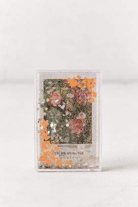 Urban Outfitters Instax Mini Glitter Floral Picture Frame