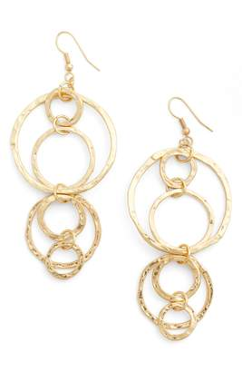 Karine Sultan Louane Multi Circle Drop Earrings
