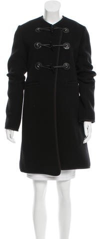 Carven Carven Wool Toggle Coat