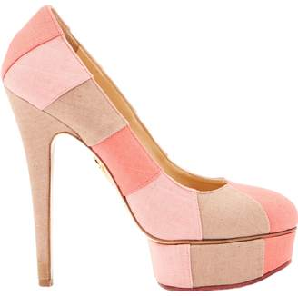 Charlotte Olympia Cloth heels