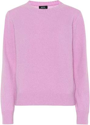 A.P.C. Lauren wool and cotton sweater