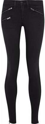 Rag & Bone Zip-Detailed Low-Rise Skinny Jeans