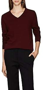 The Row Women's Maley Cashmere V-Neck Sweater - New Brick