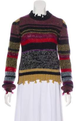 Etro Distressed Striped Sweater
