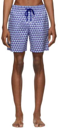 Vilebrequin Blue Istanbul Mahina Swim Shorts