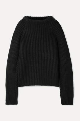 Envelope1976 - Seoul Ribbed Alpaca-blend Sweater - Black