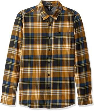 Volcom Men's Caden Long Sleeve Flannel