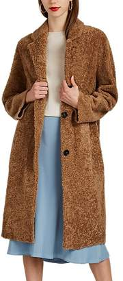Barneys New York Women's Shearling Long Coat