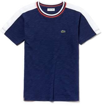 Lacoste (ラコステ) - Boys カラーブロック フラムジャージー Tシャツ