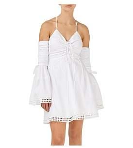 Nicholas Gathered Bell Sleeve Dress