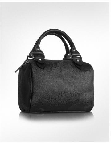 Alviero Martini 1a Prima Classe - Geoblack Small Bauletto Handbag