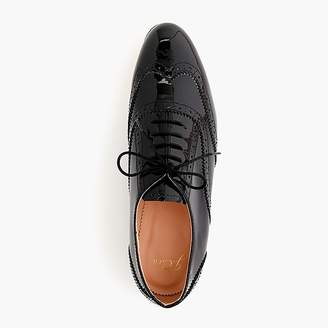 J.Crew Patent leather oxford