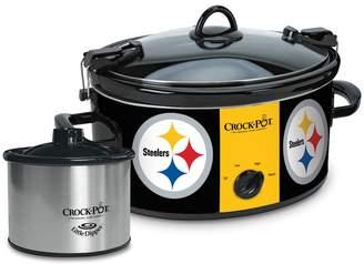 Crock Pot Crock-Pot Cook & Carry Pittsburgh Steelers 6-Quart Slow Cooker Set