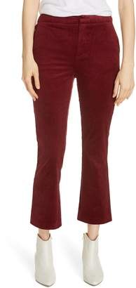 Joie Marcena Velvet Crop Flared Pants