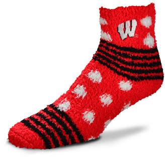For Bare Feet Wisconsin Badgers Homegater Sleep Soft Socks