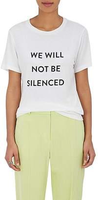 """Prabal Gurung Women's """"We Will Not Be Silenced"""" T-Shirt"""