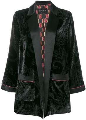 Etro draped fitted blazer