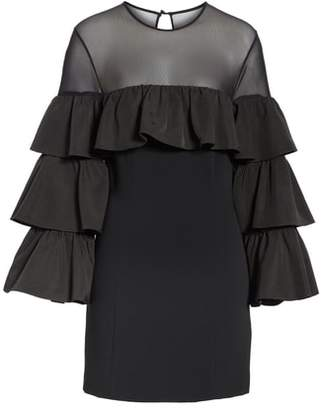 Cinq à Sept Valentina Ruffle Sleeve Dress
