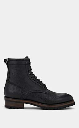 Project TWLV PROJECT TWLV MEN'S ROYAL GRAINED LEATHER BOOTS - BLACK SIZE 7 M
