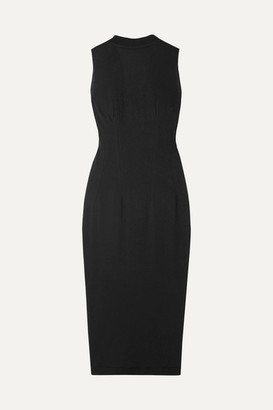 RtA Bandit Cotton-jersey Dress - Black