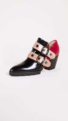 Steiger Buckle Heeled Loafers