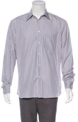 Canali Striped Dress Shirt