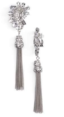 Adia Kibur (アディア キブラ) - Adia Kibur Crystal & Chain Tassel Earrings