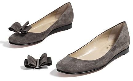Opening Ceremony Suede Flats