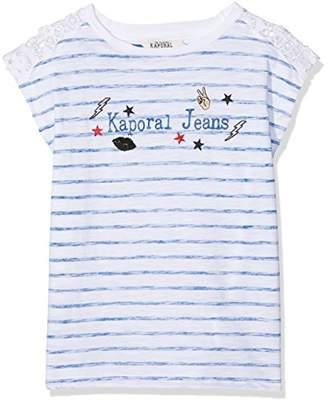 Kaporal Girl's Frami T-Shirt,(Manufacturer Size: 08A)