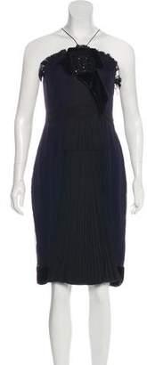 J. Mendel Sleeveless Cocktail Dress