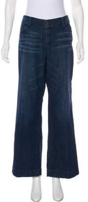 Lauren Ralph Lauren Mid-Rise Wide-Leg Jeans