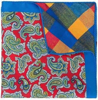 Etro paisley print necktie