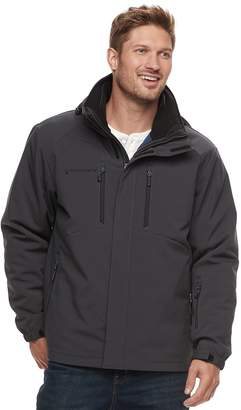 Free Country Big & Tall Softshell 3-in-1 Systems Jacket