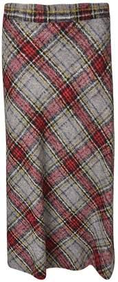 Ermanno Scervino Tartan Skirt