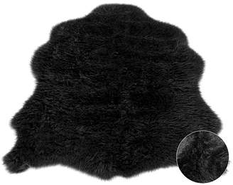 George Homemaker Faux Sheepskin Rug - 75 x 90cm - 75 x 90cm
