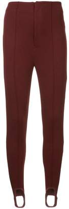 Undercover stirrup ankle trousers