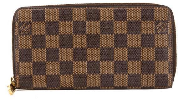 Louis VuittonLouis Vuitton Damier Ebene Canvas Zippy Long Wallet (Pre Owned)
