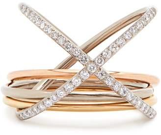 Charlotte Chesnais FINE JEWELLERY XXO diamond & gold ring