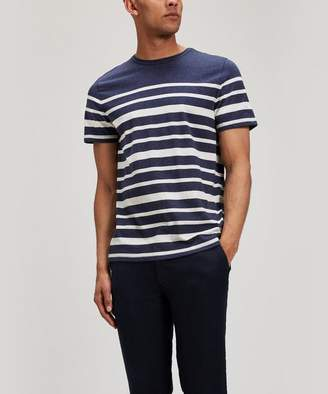 Oliver Spencer Conduit Block-Stripe T-shirt