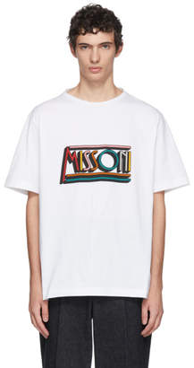 Missoni White Logo T-Shirt