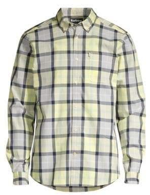 Barbour Tartan Collection Burnside Plaid Cotton Shirt