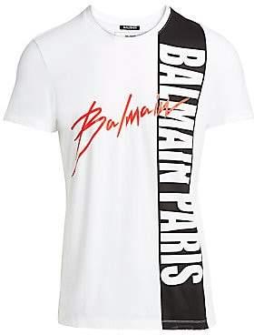 Balmain Men's Printed T-Shirt