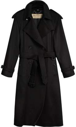 Burberry cashmere classic trench coat