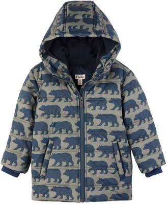 Hatley Black Bears Puffer Jacket