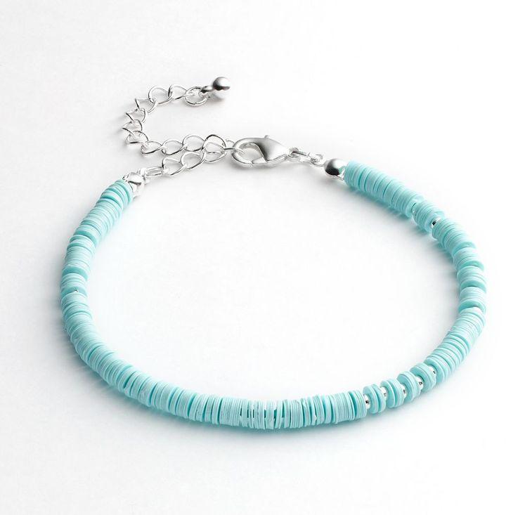 Lauren Conrad bead & disc bracelet