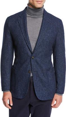 Men's Slim-Fit Textured Blazer