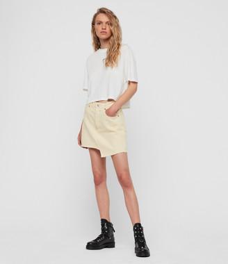 AllSaints Mai Denim Skirt